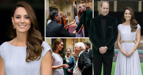 Kate Middleton wears recycled dress to announce winners of Earthshot cash