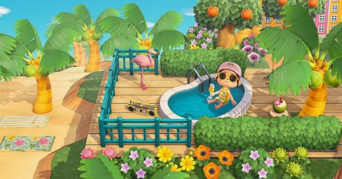 Animal Crossing: New Horizons glitch lets you sit in baths and pools