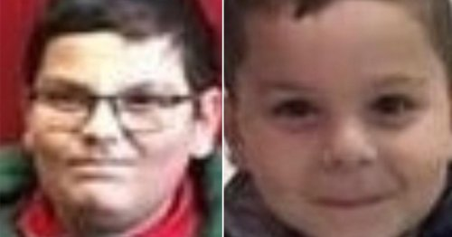 Urgent search for brothers aged 5 and 8 last seen getting into car