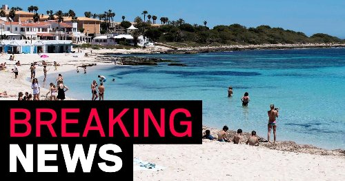 Brit dies after hitting head on rocks while coming out of sea in Menorca