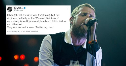 Kaiser Chiefs' Ricky Wilson responds to vaccine backlash as he's branded 'drug baron' by Gillian McKeith