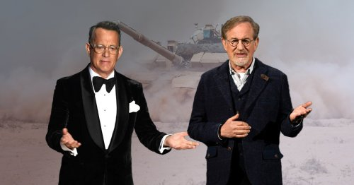 Tom Hanks and Steven Spielberg's £176million series on hold after Covid outbreak: 'Everyone is very angry'