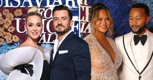 Chrissy Teigen and John Legend lead the stars at LuivaViaRoma for Unicef gala
