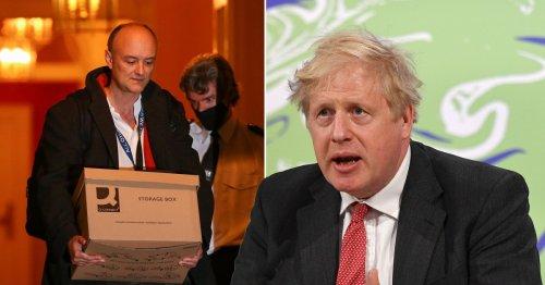 'Chatty rat' Dominic Cummings blamed for leaking Boris' texts