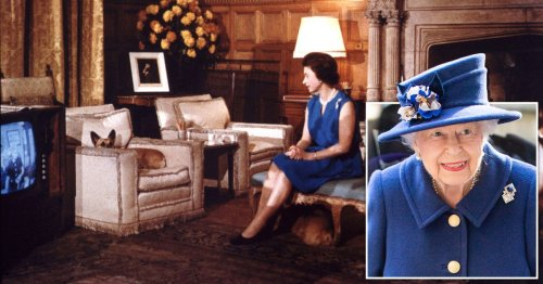 Queen 'knackered' because she's been staying up to watch TV, aides say