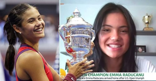 Emma Raducanu reveals how she will handle her £1.8m fortune after US Open triumph