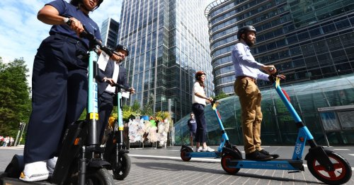 E-scooters rolled out across London with strict rules to stay off pavements