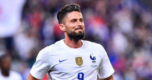 Chelsea striker Olivier Giroud agrees deal to join AC Milan