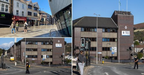 Police station evacuated after grenade handed in at front desk