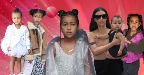 Kim Kardashian shares epic throwbacks as daughter North turns 8: 'I've never met anyone like you'