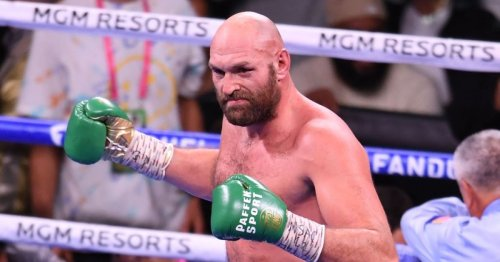 Bob Arum reveals two fight options for Tyson Fury after confirming April return plan