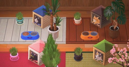 Animal Crossing: New Horizons umbrella optical illusions are wowing Twitter