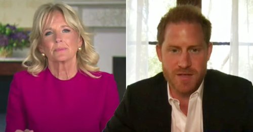 Prince Harry says Covid has 'flipped life upside down for so many'