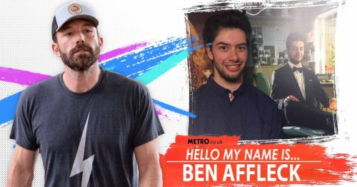 My name is Ben Affleck but I don't really know what Bennifer is