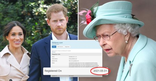 Harry and Meghan confirm they bought Lilibet domain before Queen gave approval