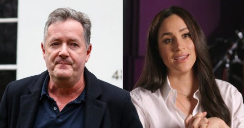 Piers Morgan makes savage dig at Meghan Markle ahead of the Duchess's new interview