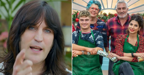 Noel Fielding replaced in first look at Great British Bake Off Christmas Special