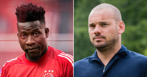 'Arsenal have slipped in recent years' – Wesley Sneijder urges Ajax keeper Andre Onana not to join Gunners