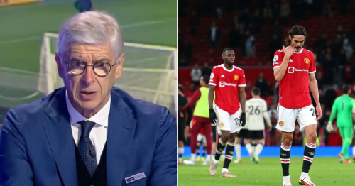 'Their season is not dead' – Former Arsenal manager Arsene Wenger claims Manchester United can still win Premier League after Liverpool thrashing