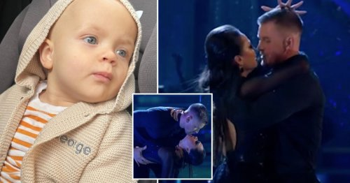 Strictly Come Dancing 2021: Adam Peaty shares sweet snaps of son after slamming Katya Jones 'almost kiss' speculation