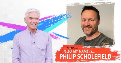 I share a name with Phillip Schofield and no, I don't have a friend called Gordon The Gopher