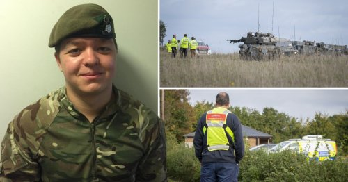 Soldier died during army training exercise in armoured vehicle