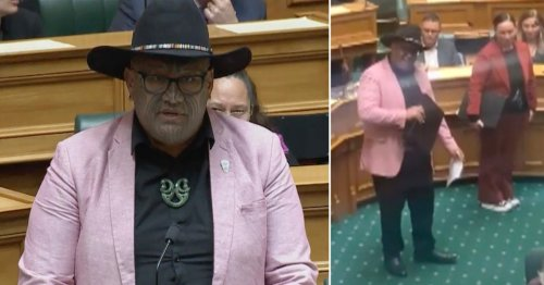 Maori MP kicked out of New Zealand's parliament for performing haka