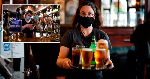 Drinkers could be forced to wear face masks outside when beer gardens open