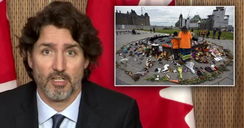 Pope should apologise after 215 bodies found at Catholic school, Trudeau says