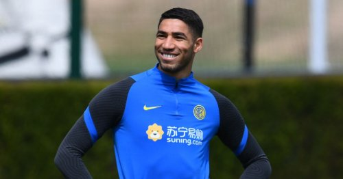 'I hope to stay at this club for a long time' – Arsenal target Achraf Hakimi 'very happy' at Inter Milan