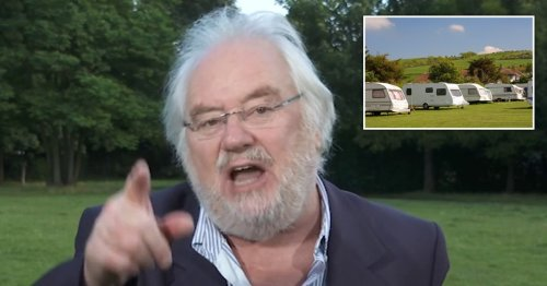 Good Morning Britain's Alex Beresford forced to intervene as Mike Parry descends into anti-caravan rant
