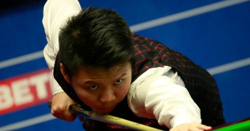 'I don't like my chances against Ronnie O'Sullivan or Judd Trump, I need to change my mentality, ' admits Zhou Yuelong
