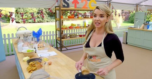 Celebrity Bake Off: Nadine Coyle sends internet into meltdown after saying 'flour'
