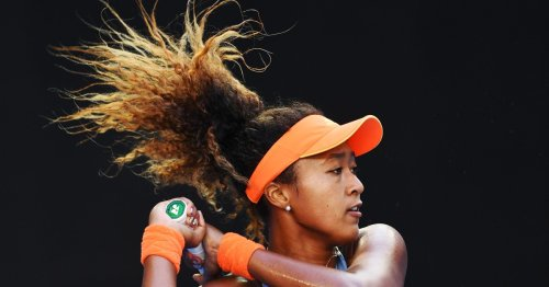 Why is Naomi Osaka representing Japan at the Olympics?
