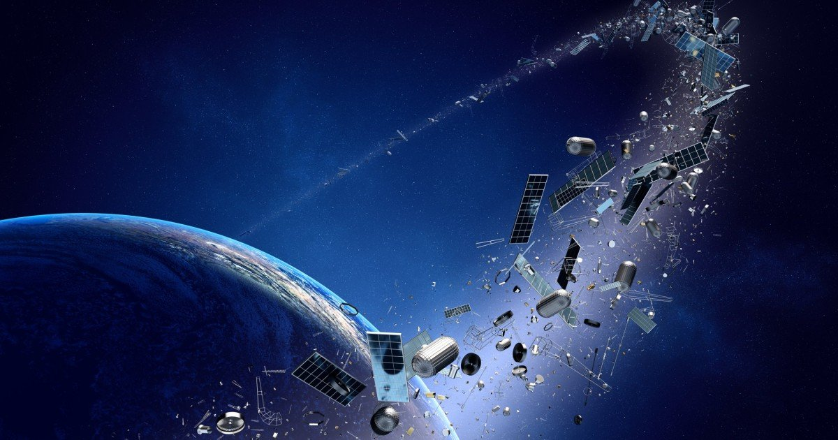 A giant piece of space junk is hurtling towards Earth — how worried should you be?