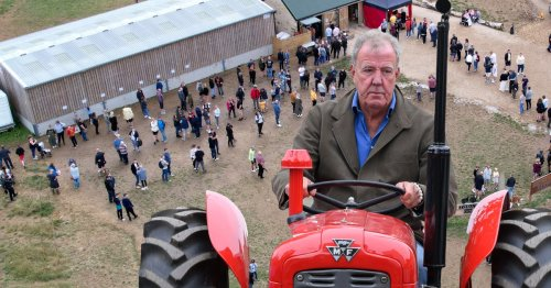 Jeremy Clarkson's Diddly Squat farm attracts large queues as he teases adorable new series 2 cast members
