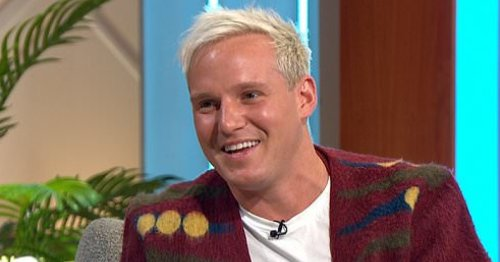 Jamie Laing says he'll be like a 'jealous boyfriend' watching Karen Hauer dance with someone else on Strictly