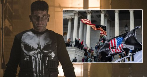 Punisher star Jon Bernthal 'disgusted and horrified' by Capitol rioters wearing Marvel character's symbol on T-shirts