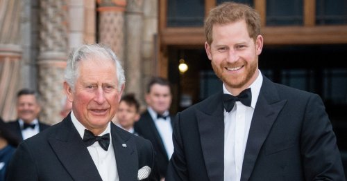 Harry tells how he and 'Pa' Charles could 'talk for hours' in resurfaced clip