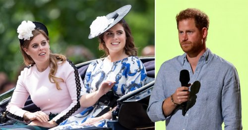Beatrice and Eugenie 'sympathise with Harry because his voice was rarely heard'