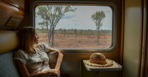 What it's like to travel through Australia's red centre on The Ghan
