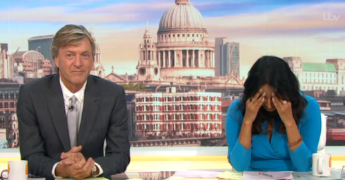 Good Morning Britain's Ranvir Singh visibly upset as she reports on French beauty pageant scandal over weight discrimination