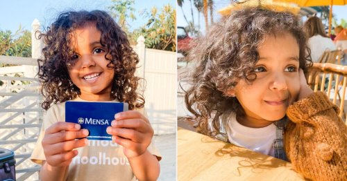 Youngest member of Mensa is a two-year-old with an IQ of 146