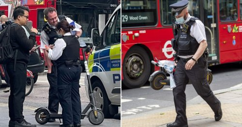 London cracks down on e-scooters as police seize 800 this year so far