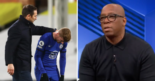 Ian Wright reacts to Timo Werner's miss at Fulham and sends advice to Chelsea striker
