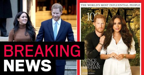 Harry and Meghan named among world's top 100 most influential people