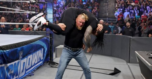 Brock Lesnar 'suspended indefinitely' by WWE after violent 'rampage'