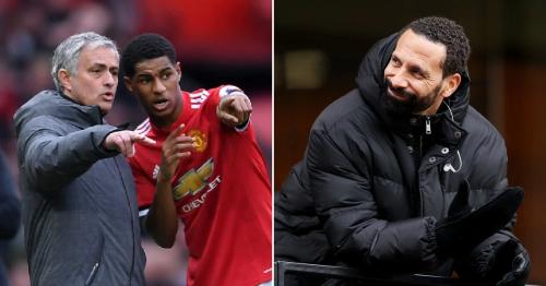 Manchester United legend Rio Ferdinand responds to Jose Mourinho's Marcus Rashford claim