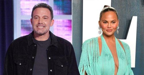 Chrissy Teigen calls Ben Affleck celebrity dating app video 'creepy' and labels TikTok user 'tacky' for sharing it