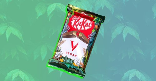 You can now buy a vegan KitKat made with a rice-based milk alternative